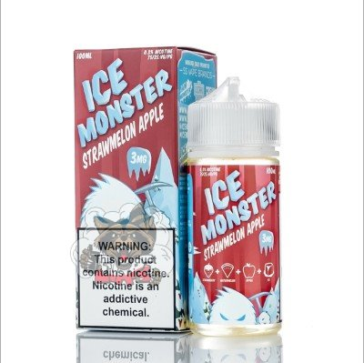 Jam Monster - ICE Monster Strawmelon Apple