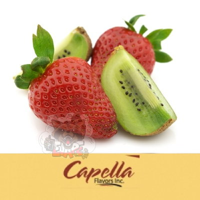 Capella - Kiwi Strawberry with Stevia (Киви + клубника с Stevia)