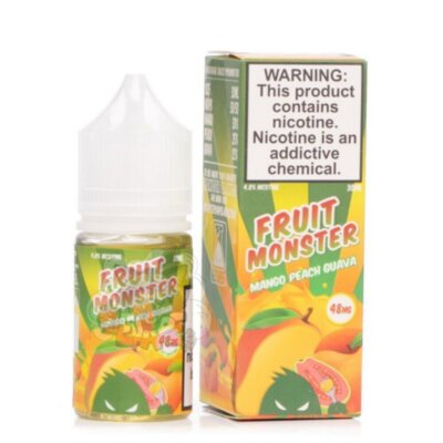 Fruit Monster Salt - Mango Peach Guava [30 мл, Солевой]
