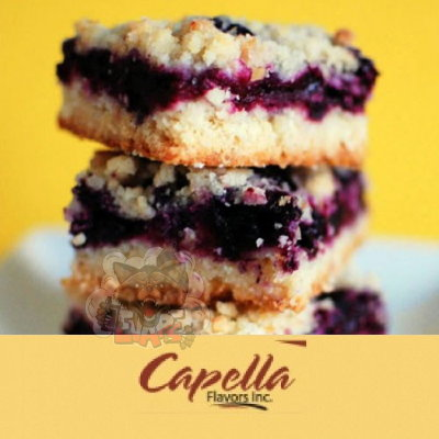 Capella - Blueberry Cinnamon Crumble (Черничный пирог)